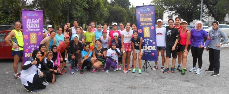 Participants at the third MWM Training Clinic