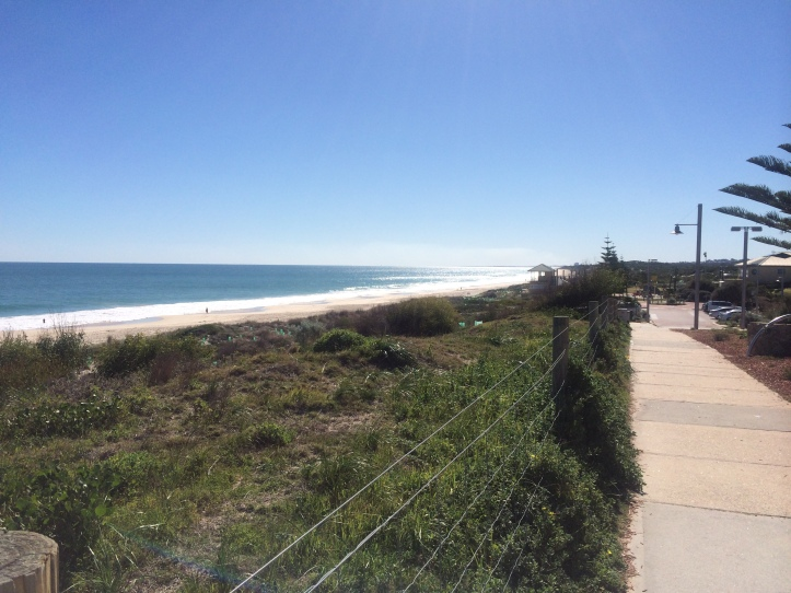 Cottesloe Beach - 1.5km from my door and I get to run here