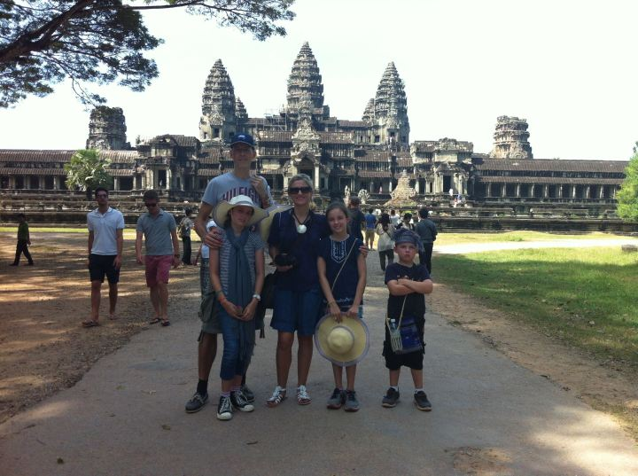A 2012 trip to Angkor Wat.