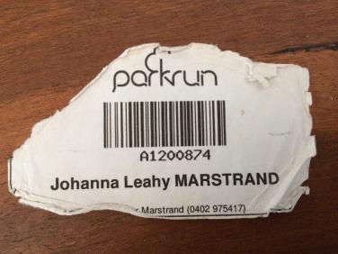A well-worn barcode